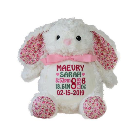 Floral Bunny