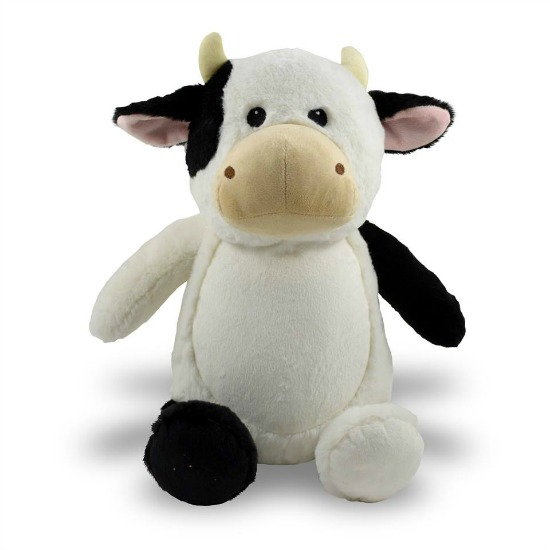 Personalized Cow Stuffed Animal