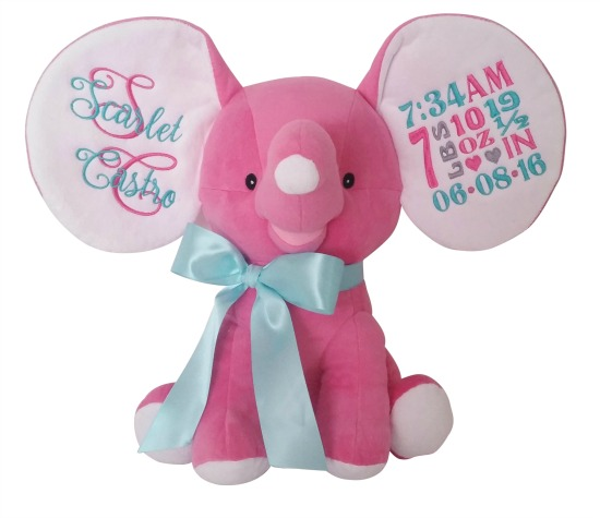 Elephant Hot Pink