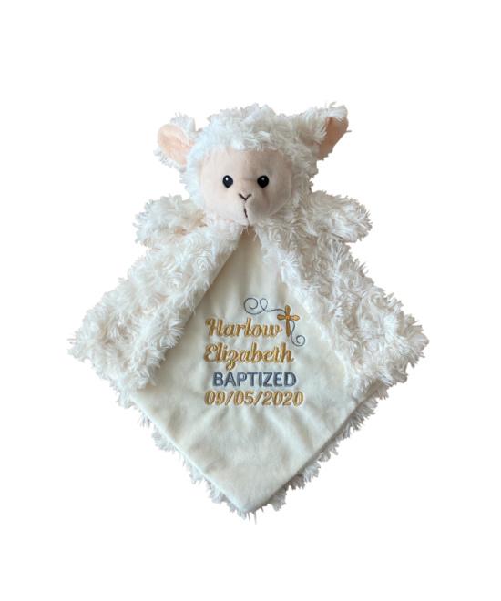 Lamb Baptism Lovey