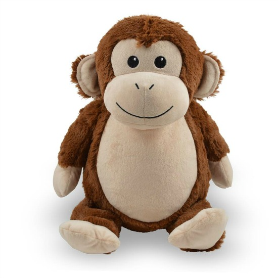 Personalized Monkey Stuffed Animal
