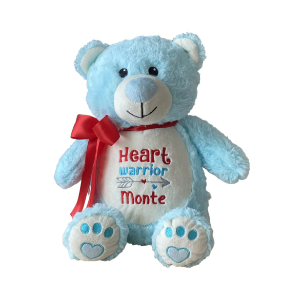 Blue Bear Heart Warrior