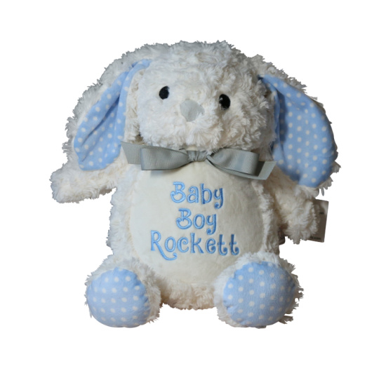 Bunny Blue Accents