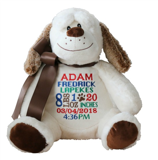 Personalized Dog Stuffed Animal