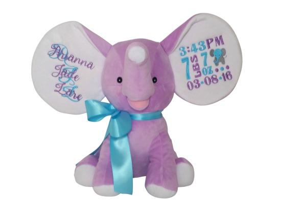 Elephant Lavender / Blue