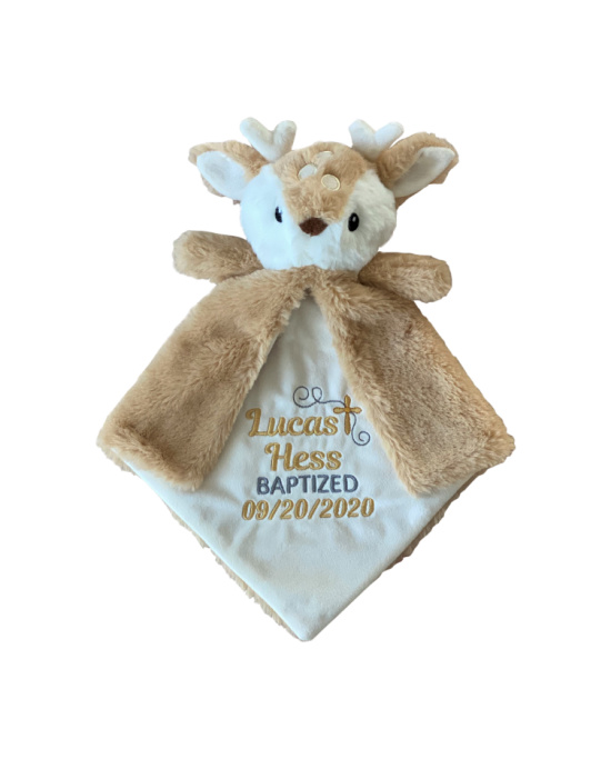 Fawn Baptism Lovey