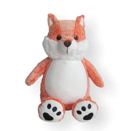 Personalized Orange Woodland Fox