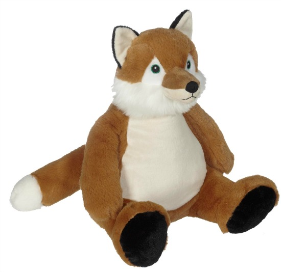 Personalized Woodland Fox Stuffed Animal