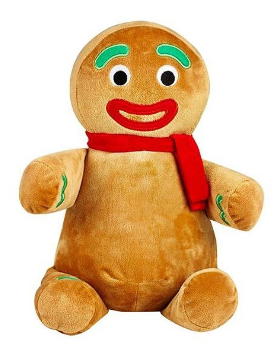 Gingerbread Man (scarf)