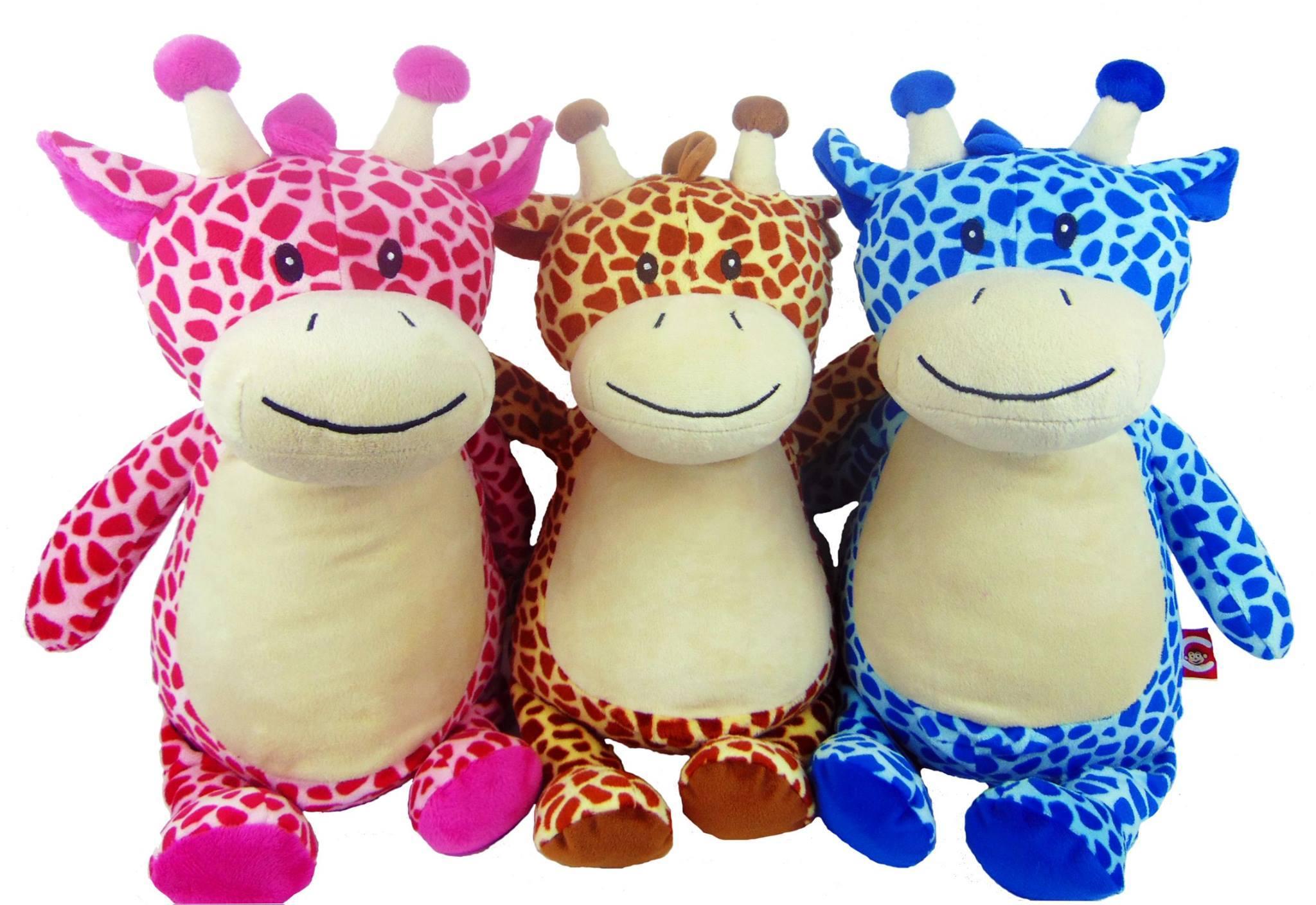 Giraffe  Blue or Tan