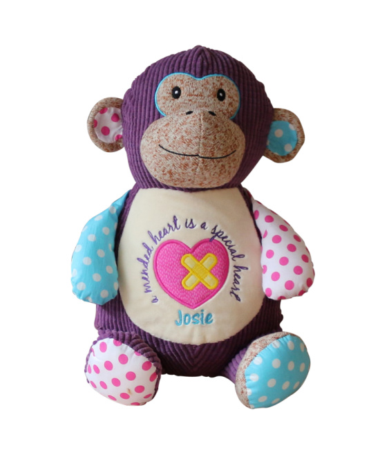 Huggles  Monkey  (Purple)