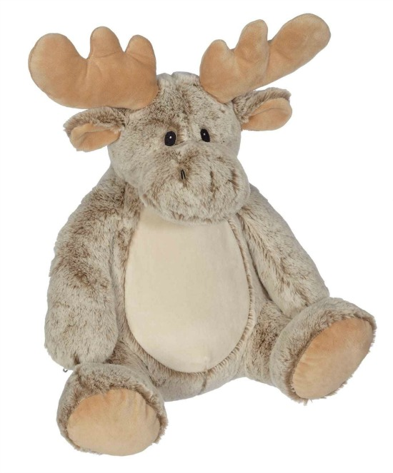 Personalized Embroidery Buddy Moose Stuffed Animal
