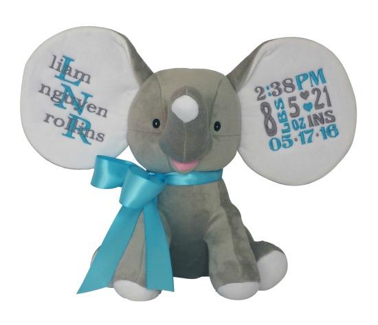 Elephant Boy Blue
