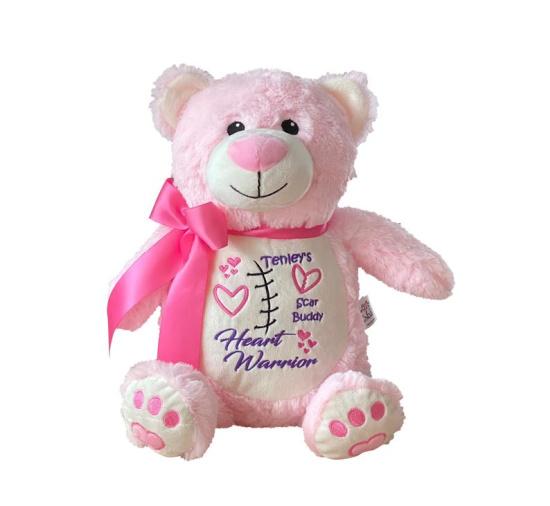 Pink Bear Scar Buddy