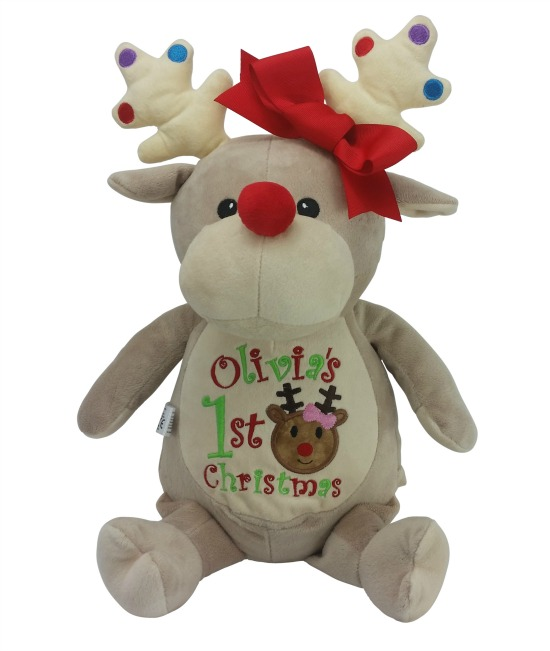 Reindeer 1st Christmas (tan)