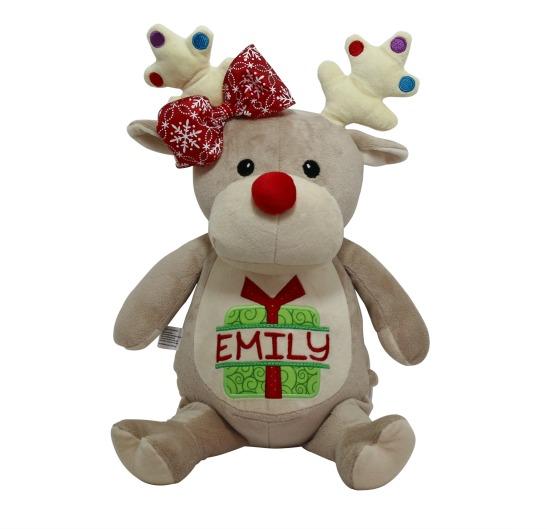 Reindeer Stuffed Animal (T)