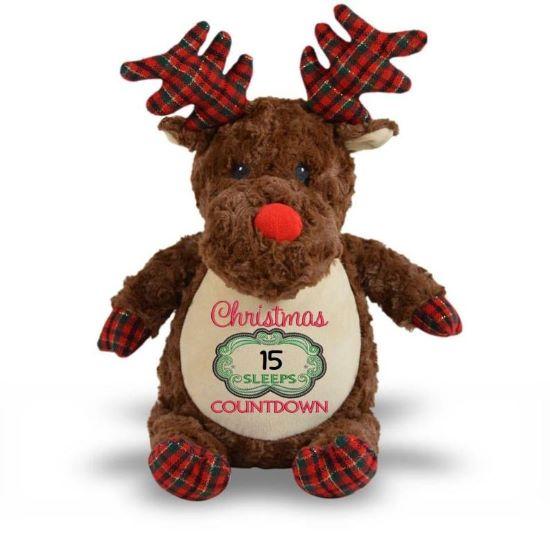 Woodland Plaid Reindeer